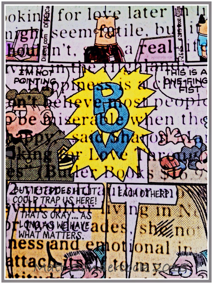 iphone project 365, newspaper, comics